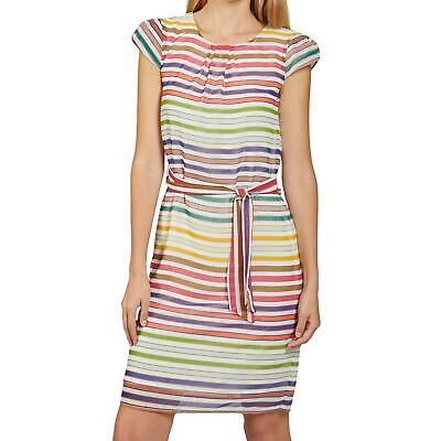 More & More Damen Kleid Kleider Rock Sommerkleid Freizeitkleid Gewand Mode bunt
