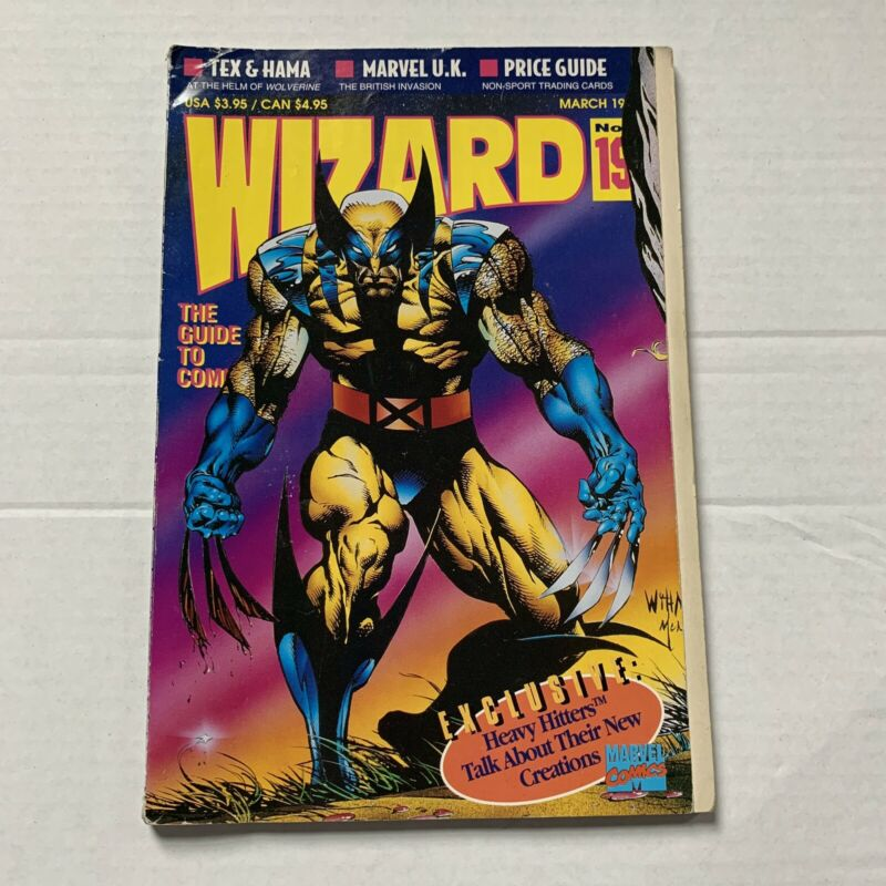Wizard: The Guide to Comics March 1993 -Number 19