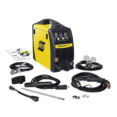Esab Fabricator 141i Mig Stick And Tig Woption Welder Pkg W1003141