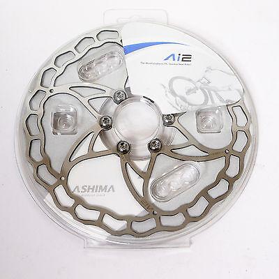mr-ride The World's Lightest ASHIMA Ai2 Ai 2 Disc Rotor 160mm 73g 1pc