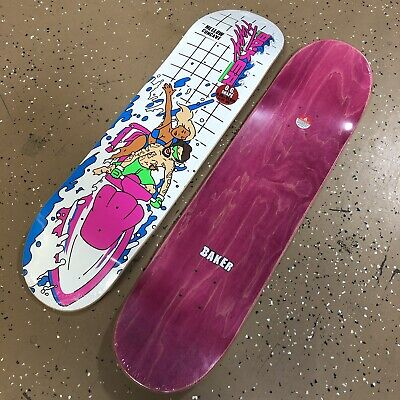 "BAKER SKATEBOARDS ""FIGGY"" 8.25 DECK NEW"