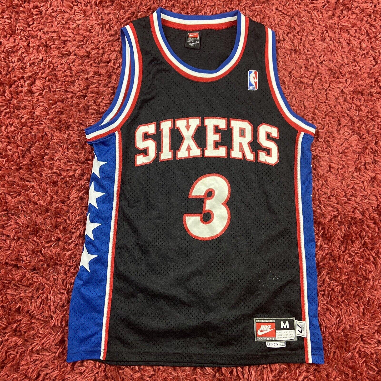 Allen Iverson #3 Philadelphia 76ers Jersey�Vest Black