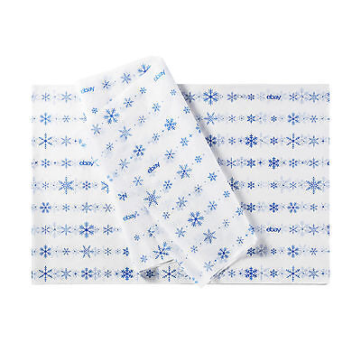 "Holiday-Themed eBay Branded Tissue Paper: 20""x30"", 240 sheets"