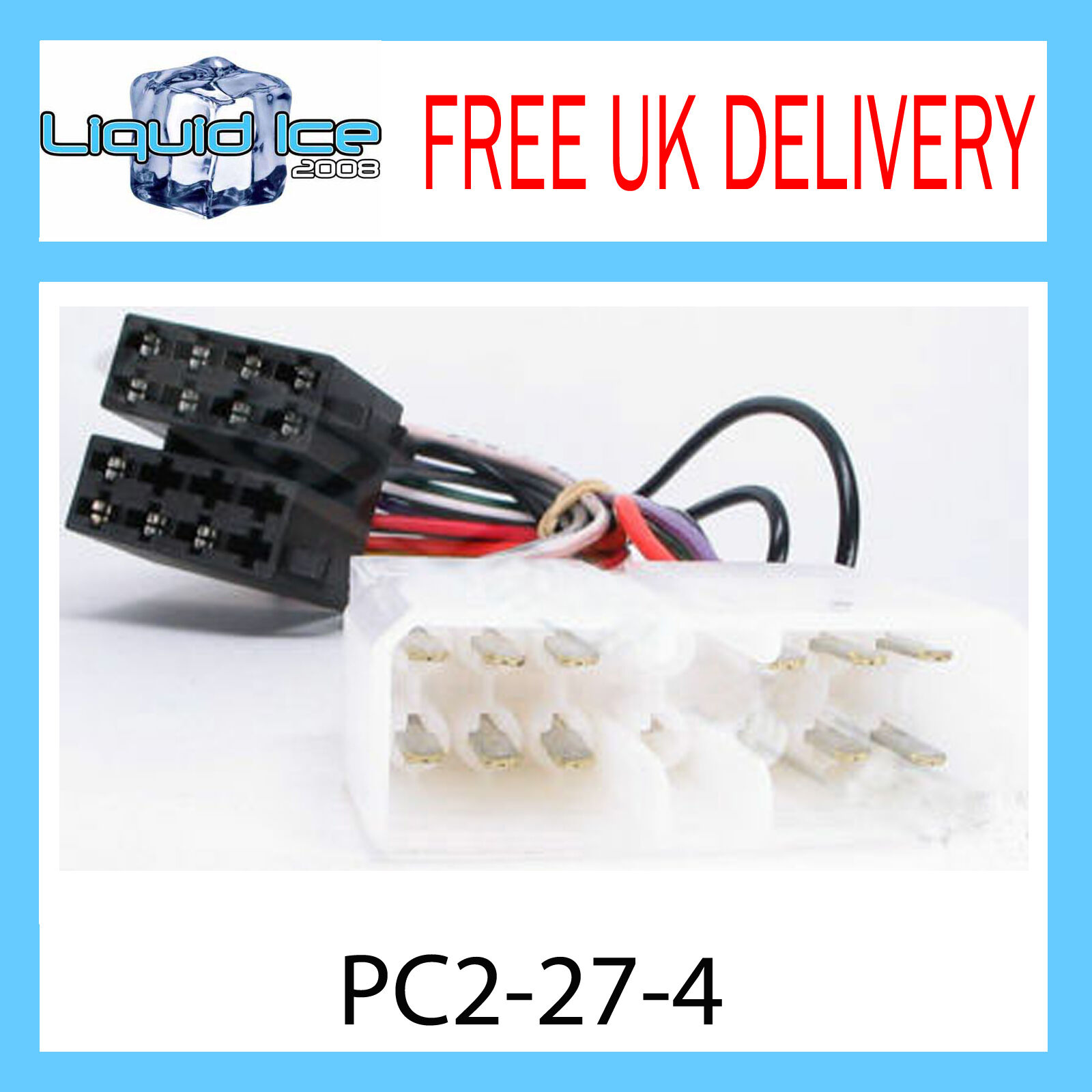 Details about ISUZU TROOPER 1987 - 1995 ISO STEREO HEAD UNIT HARNESS  ADAPTOR LEAD