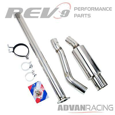 Exit Kit (Rev9(CB-304) Single Exit Cat-Back Exhaust Kit, Stainless Steel, 3