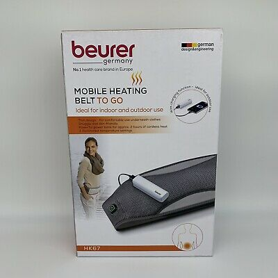 Beurer Mobile Heating Belt To Go HK67 Indoor Outdoor
