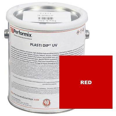 Plasti Dip 1 Gallon Can Uv Concentrate Unthinned Matte - Red