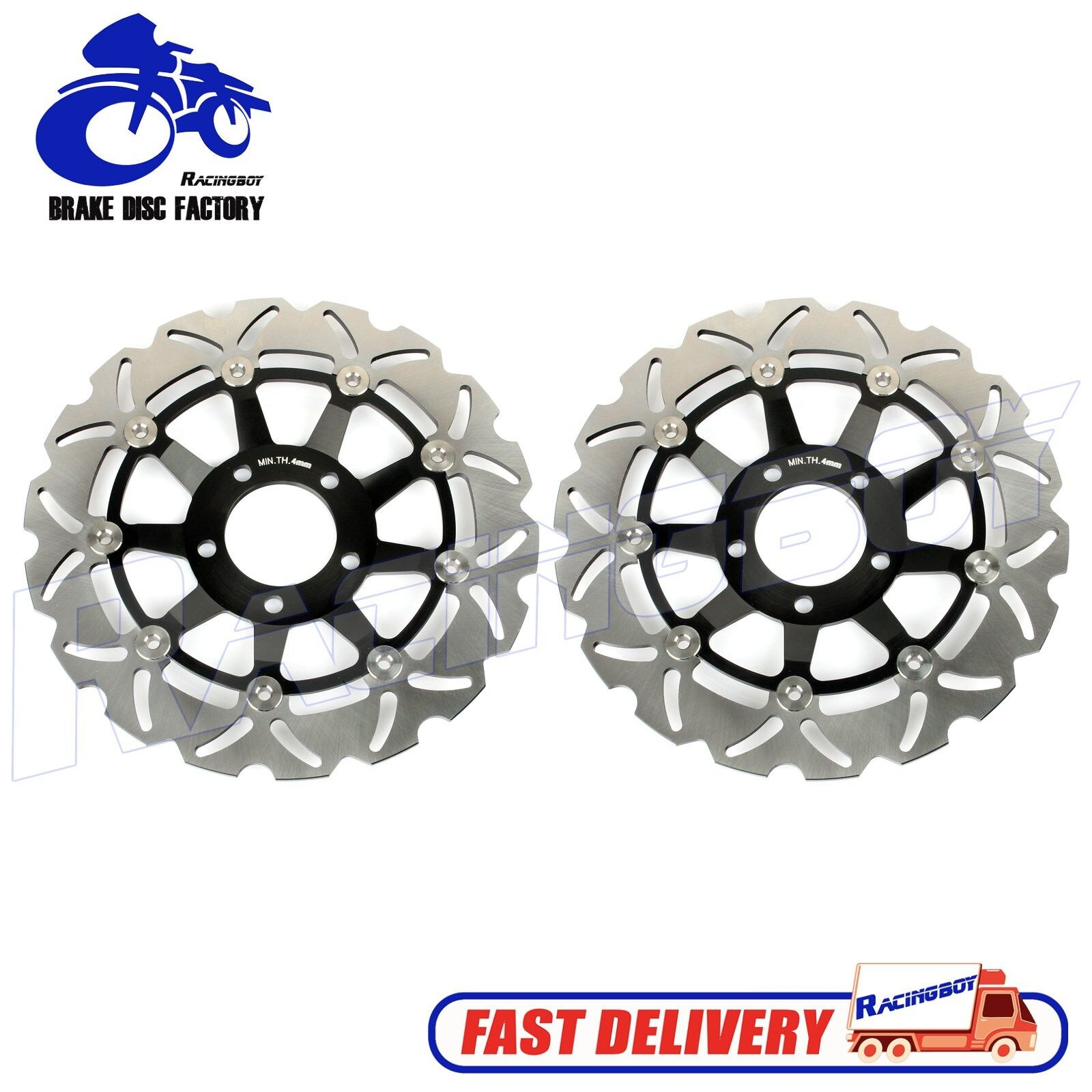 TARAZON 1 Pair Front Brake Discs Rotors for GSF 400 600 Bandit//GSX 750 F//GSX 400 Impulse//SV-S 650 99-02// RF400 R RV 95 96