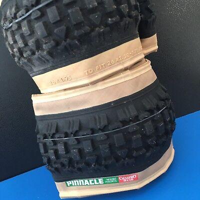 2= Folding  Bicycle Tire PINNACLE ATB WITH KEVLAR BELT & Bead 26 x 1.95 ITB NEW Kevlar Bead Tire