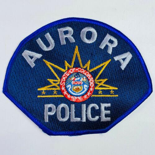 Aurora Police Colorado CO Patch (A2-C)