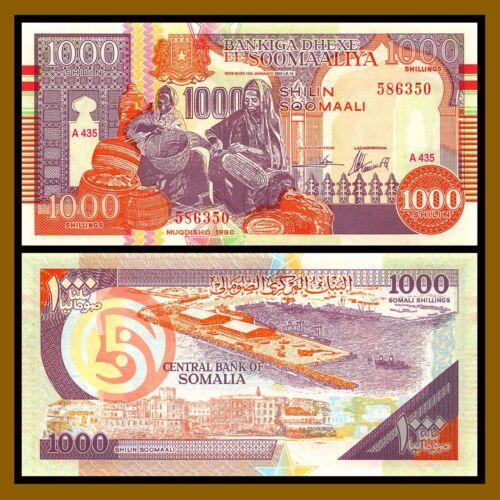 Somalia, 1000 shillings, 1990 (2000), P-R10, Puntland Region, UNC