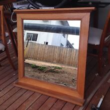 Timber framed mirror - great condition Essendon North Moonee Valley Preview