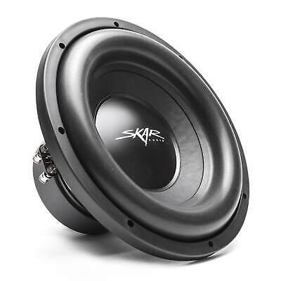"Skar Audio SDR-12 D2 12"" 1200 Watt Max Power Dual 2 Ohm Car"
