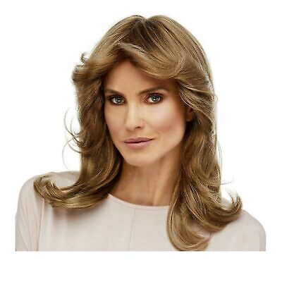 Womens 70's Charlie's Angels Farrah Fawcett Feathered Wig Costume - Charlies Angels Wigs