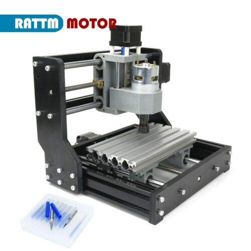 【US】GRBL 1610 Pro 3 Axis CNC Mini DIY Engraving Milling Router Machine & ER11