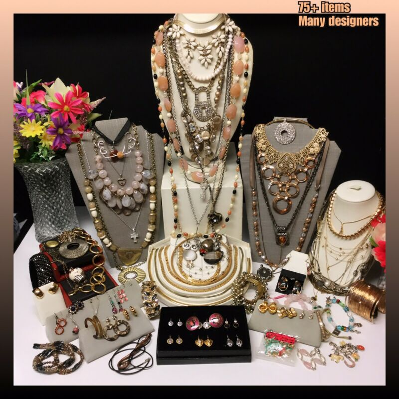 Vintage to Now Jewelry Lot - Estate Find - All Wearable  - Many Designer Signed