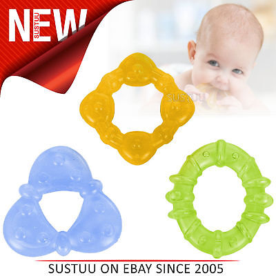 Bright Starts Chill & Teethe Teether Set│Baby's Fun Coloured Water-Filled Dummy