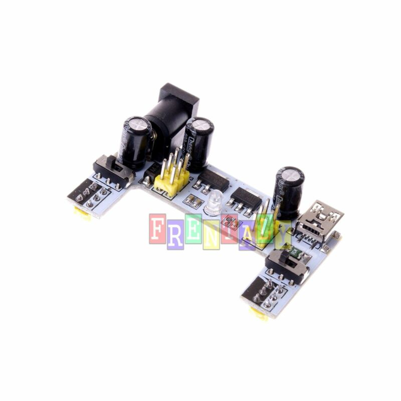Upgraded K2 MB-102 MB102 Breadboard Power Supply Module 3.3V 5V for Arduino