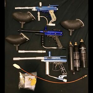 Paintball marker package.
