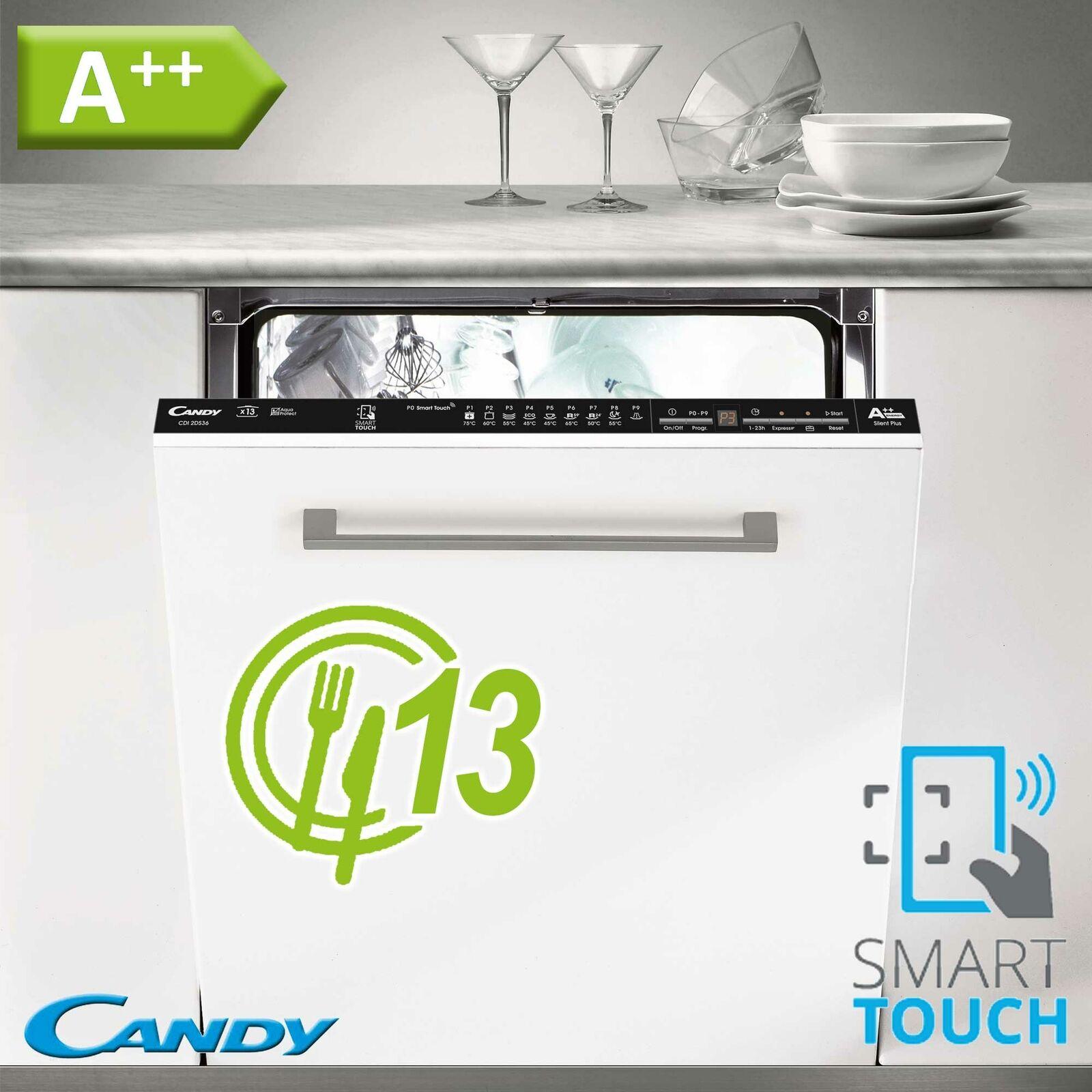 A++ Geschirrspüler 60cm Spülmaschine Einbau Geschirr Spüler vollintegriert Candy