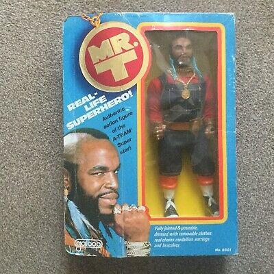"Vintage Galoob A-Team BA Baracas Mr T 12"" Action Figure Boxed VGC Boxing WWF WWE"
