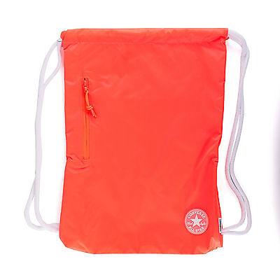 Converse Cinch Sportbeutel unisex Gymsack Turnbeutel, Farbe orange, 93427