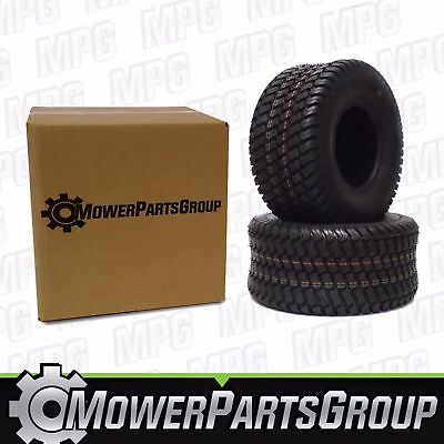 (2) 18x8.50-8 Oust Tires 4 Ply for Lawn Mower and Garden Tractor Tire 18x8.50x8