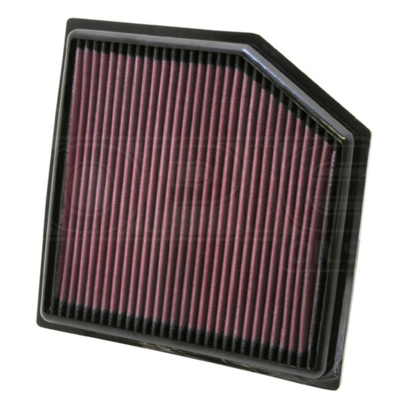 K&N Replacement Air Filter - 33-2452 - Performance Panel - Genuine Part