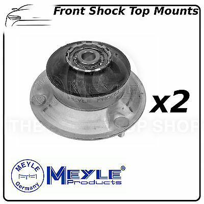 BMW Meyle Front Suspension Shock Top Strut Mounts (Pair) 3003133601 - 2001 Bmw 525i Shock