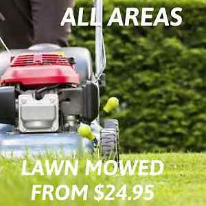 Lawn mowing services Perth Perth City Area Preview