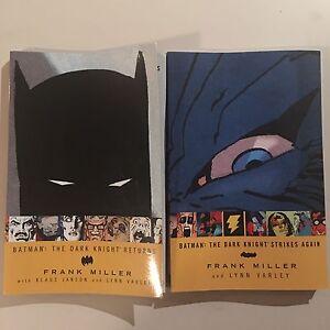 Batman: The Dark Knight Returns + Strikes Again - Graphic Novels Albert Park Port Phillip Preview