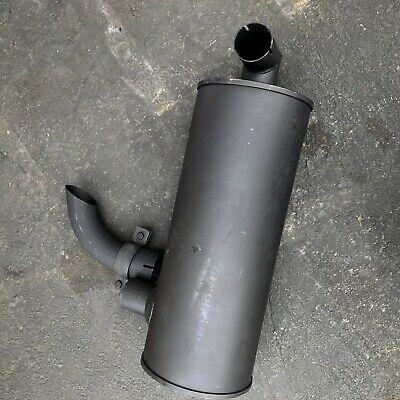 Muffler With U Bolt Clamp Fits Hitachi Ex200-2 Ex200lc-2 Ex200-3 Engine 6bd1