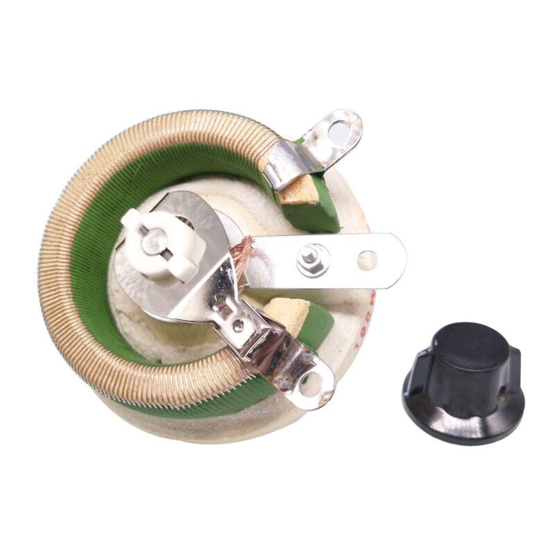 100W 30 OHM High Power Wirewound Potentiometer, Rheostat, Variable Resistor
