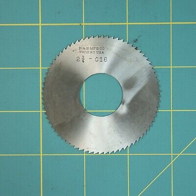 1one Slitting Slotting Saw Blade 0.016 X 2-34 Hss Machinist Cutting Tool