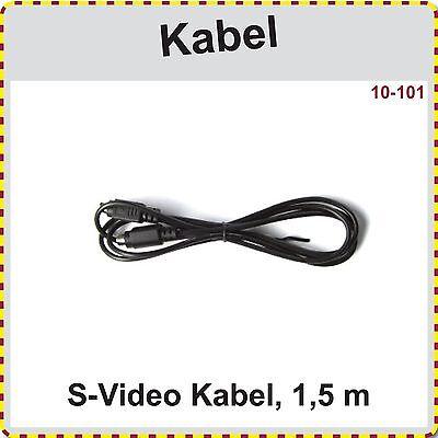 S-Video Kabel, S-VHS Kabel, 1,5m - Video 1 S-video