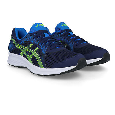 Asics Mens Jolt 2 Running Shoes Trainers Sneakers - Navy Blue Sports Breathable