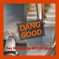 $99.99 Carpet Cleaning Deal and $99.99 Furnace Cleaning Deal too
