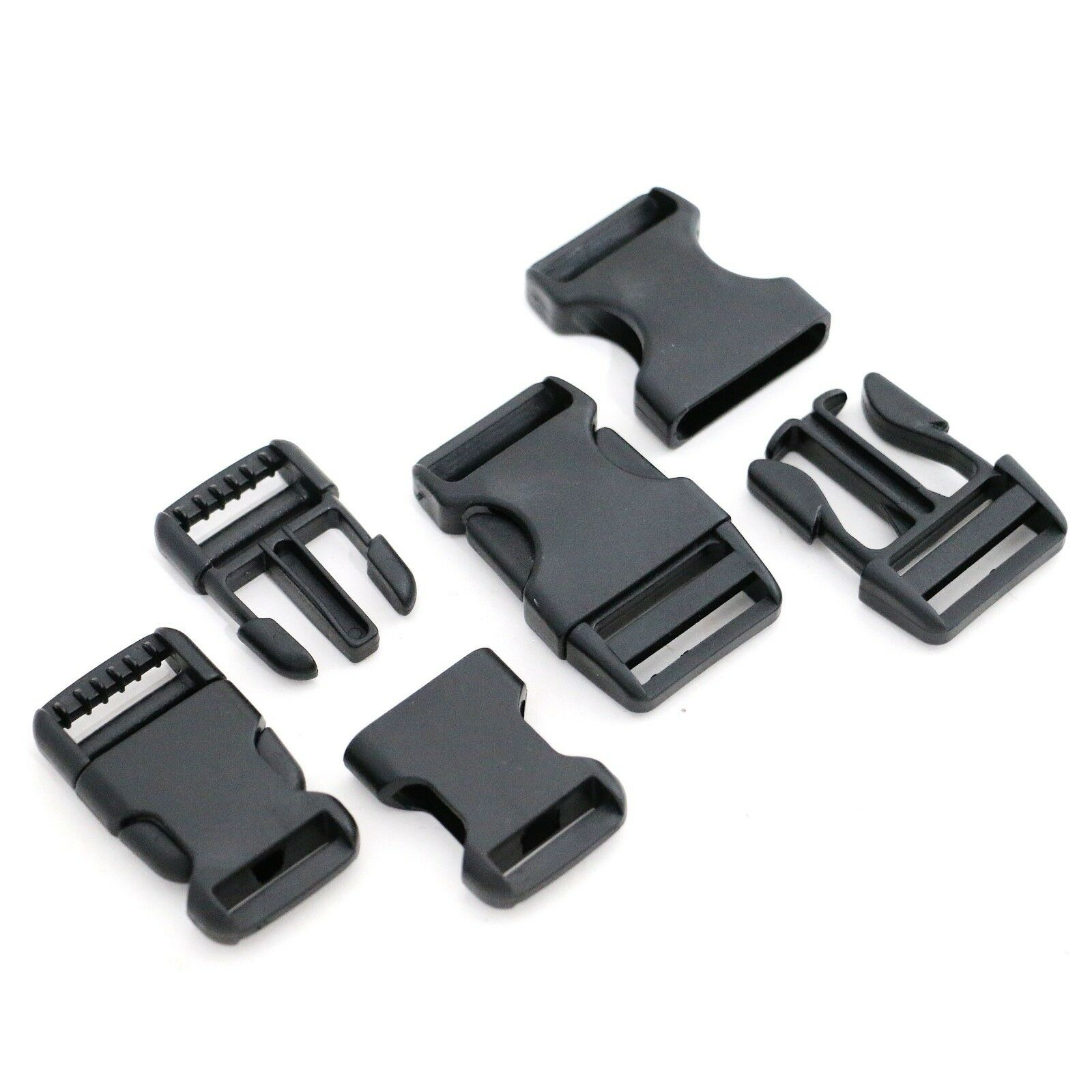 "2 Pack 1-1//2/"" Side Release Buckle"