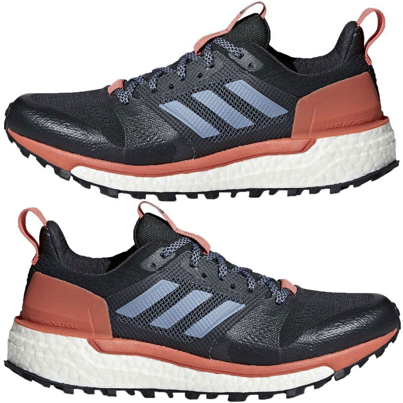 Adidas Women's Athletic Shoes Supernova Trail Running Lace Up Sneakers Authentic