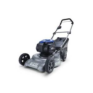 Used Victa 82V Power Cut Mulch Or Catch Lawn Mower With Battery