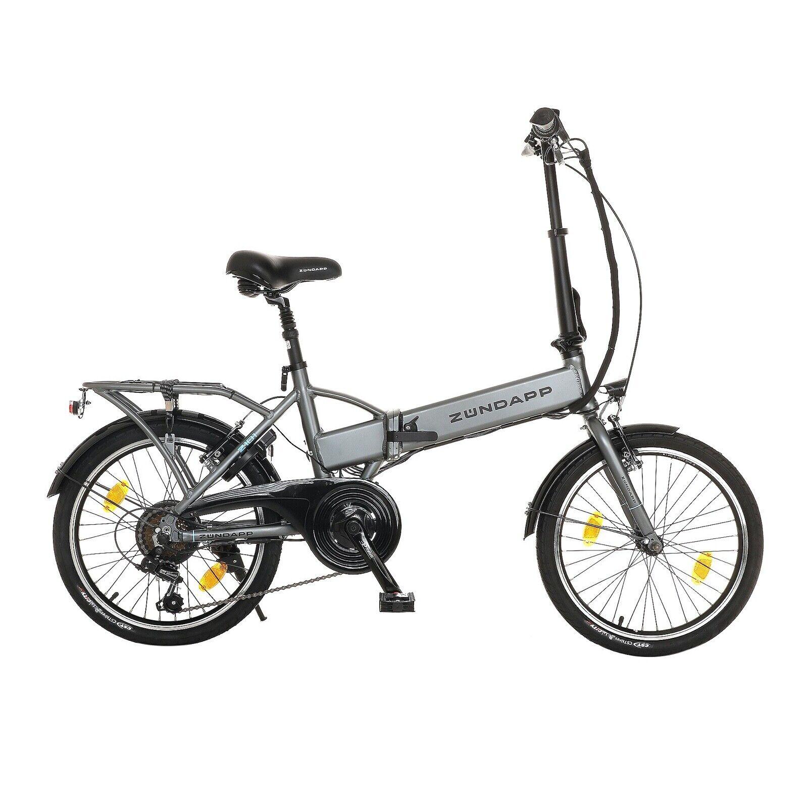 E-Bike 20 Zoll Zündapp Z101 Faltrad Pedelec Elektrofaltrad B-WARE