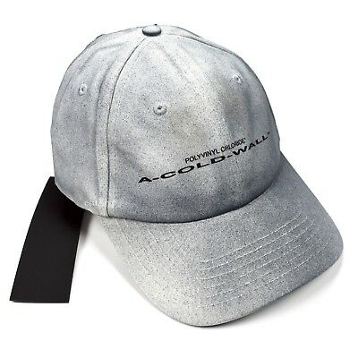 Cotton Stretch Logo Hat - NWT A Cold Wall ACW Men's Gradient Stretch Logo Print Cotton Hat Cap AUTHENTIC
