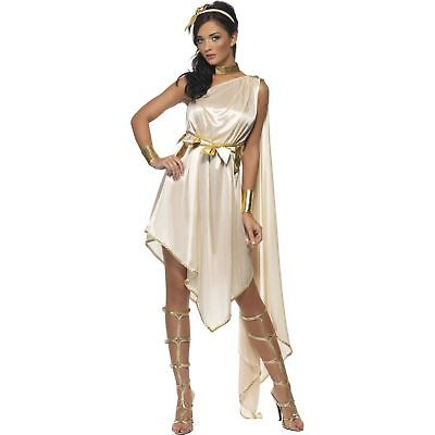 Fever Greek Goddess Roman Toga Grecian womens ladies fancy dress costume