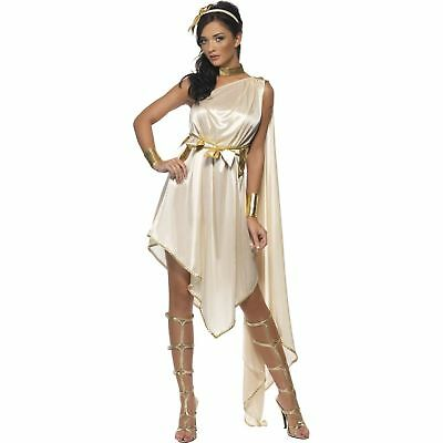 Fever Greek Goddess Roman Toga Grecian womens ladies fancy dress costume](Roman Goddess)