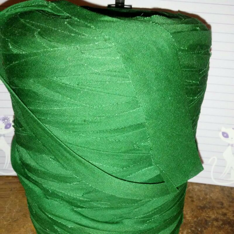 Rag Yarn Precut Fabric Strips 37oz Dark Green
