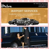 Airport limo taxi SUV rental