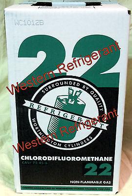R22 R-22 Refrigerant 15lb Virgin Spec.us Made