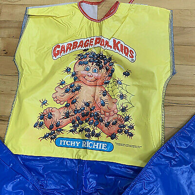 Vtg 1985 Garbage Pail Kids Costume Itchy Ritchie Size L No Mask Collegeville EUC