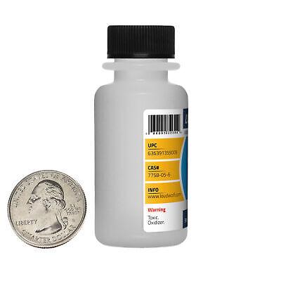 Potassium Iodate / 4 Oz / 4 Bottles / 99.9% Pure ACS Reagent Grade / Fine Powder 1