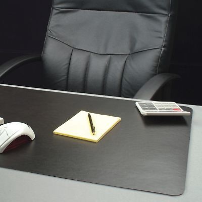 Lorell Bio-based Black Desk Pad - 24 Width X 19 Depth - Black Llr-39655
